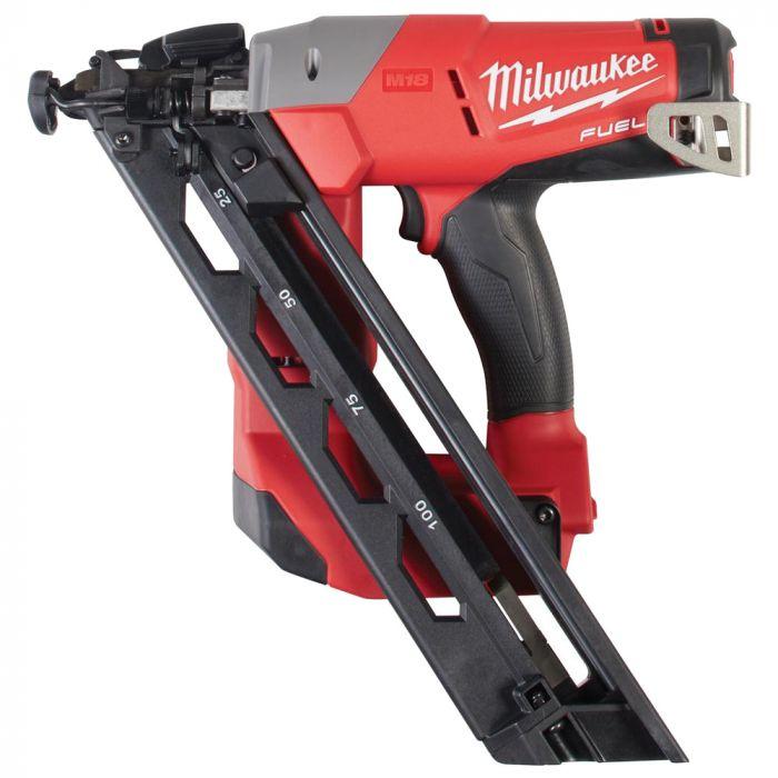 Milwaukee 2743-20 M18 Fuel Lithium-Ion Cordless 15 Gauge Angled Finish  Nailer, Bare Tool