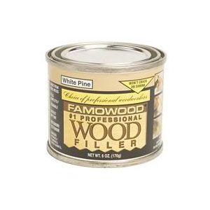 54650 Famowood Wood Filler 6 Oz Oak Teak