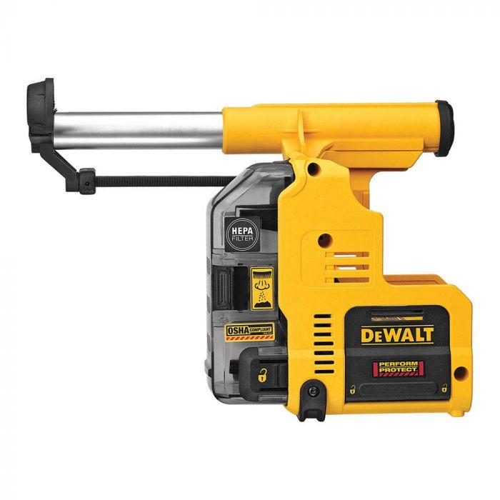 Dewalt Dust Extractor >> Dewalt Dwh303dh 13 6 Onboard Dust Extractor For 1 Sds Plus Hammer