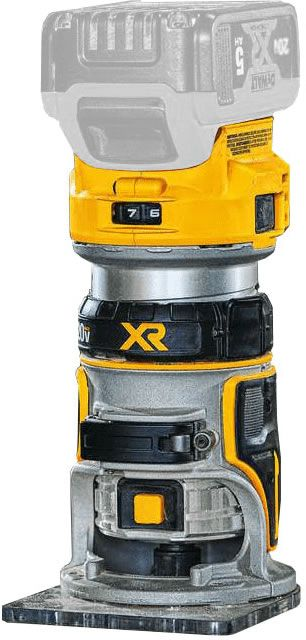DeWALT DCW600B 20V MAX* XR Brushless Cordless Compact Router, Bare Tool