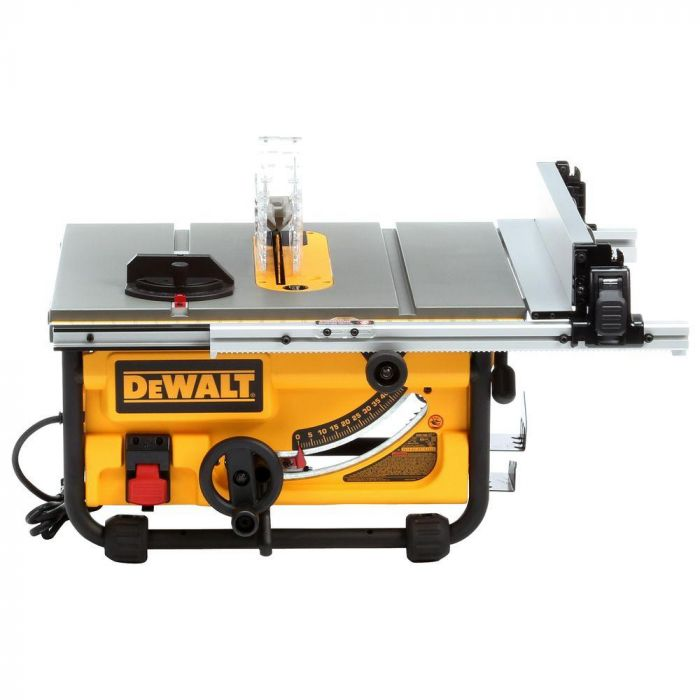 Dewalt Dwe7480 10 Compact Job Site Table Saw With Site Pro Modular Guarding System