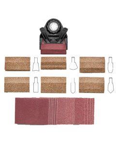 4 sleeves Jet 575941 5-1//2-Inch Long Aluminum-Oxide Hard Sanding Sleeve 3-Inch Diameter 60 Grit